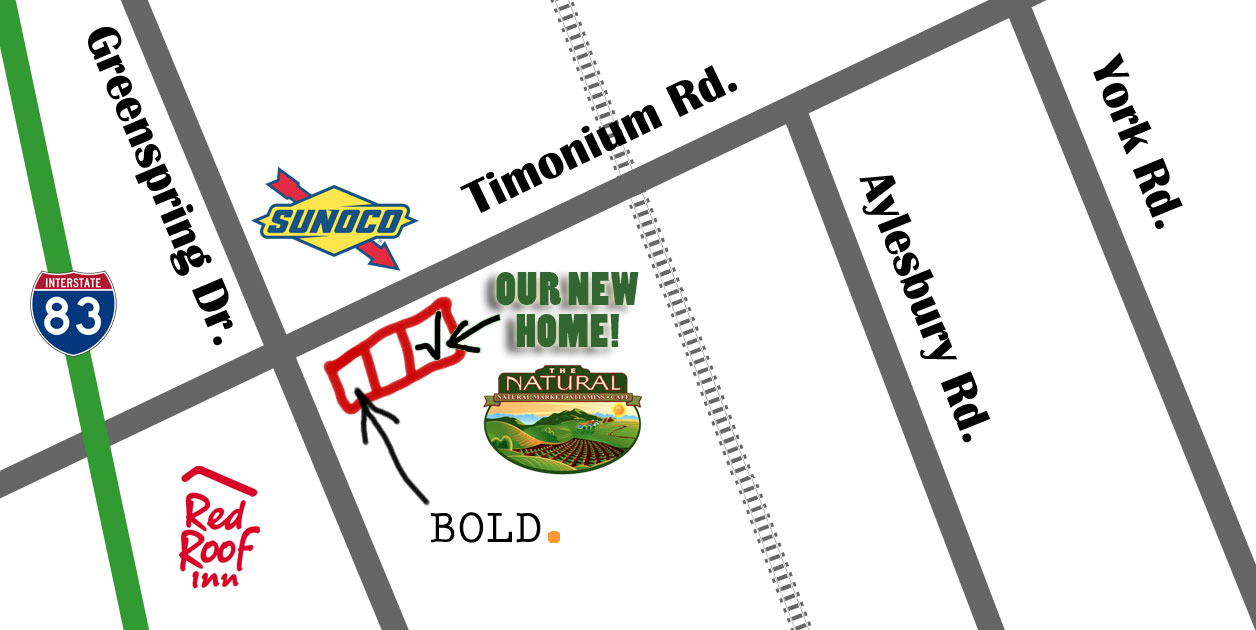 map of 65 west timonium road